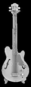 metal earth musical - electric bass guitar