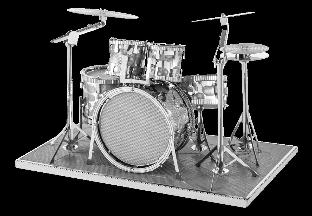 metal earth musical - drum set