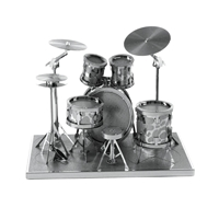 metal earth musical - drum set 1