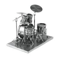 metal earth musical - drum set 5