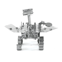 metal earth  aviation  mars rover 2