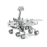 metal earth  aviation  mars rover 4