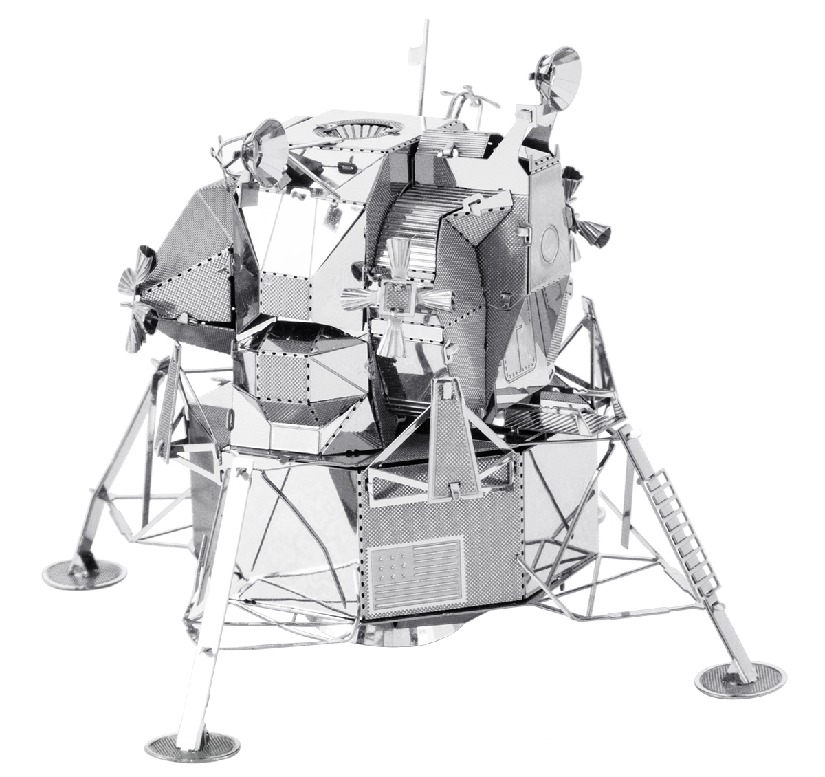 metal earth  the aviation - apollo lunar module