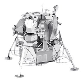 metal earth  the aviation - apollo lunar module