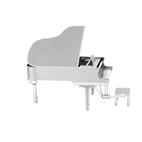 Metal Earth instruments - grand piano 1