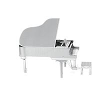 Metal Earth instruments - grand piano 1