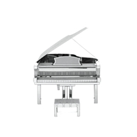 Metal Earth instruments - grand piano 2