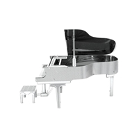 Metal Earth instruments - grand piano 3