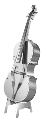 metal earth musical bass fiddle