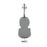 metal earth musical bass fiddle 5