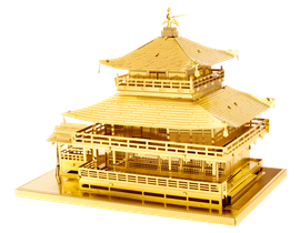 Metal Earth architecture - Gold Kinkkaku-Ji