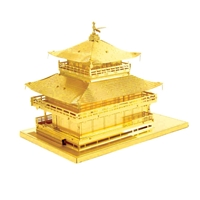 Metal Earth architecture - Gold Kinkkaku-Ji 2