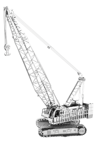 metal earth vehicles crawler crane
