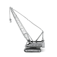 metal earth vehicles crawler crane 1