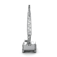 metal earth vehicles crawler crane 3