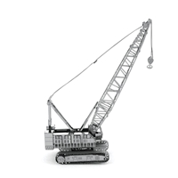 metal earth vehicles crawler crane 4