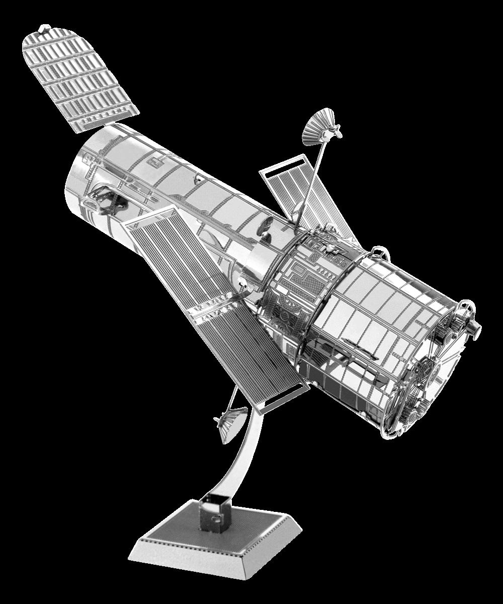 metal earth aviation - hubble telescope