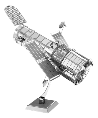 metal earth aviation - hubble telescope