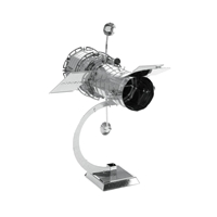metal earth aviation - hubble telescope 4