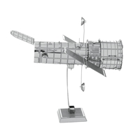 metal earth aviation - hubble telescope 5