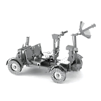 metal earth  the aviation - apollo lunar rover 4
