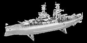 metal earth ships - uss arizona