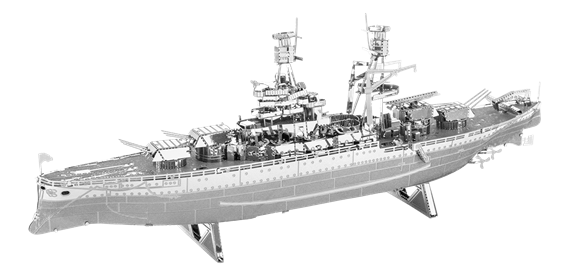 metal earth ships - uss arizona