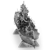 metal earth ships - uss arizona 1