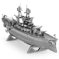 metal earth ships - uss arizona 3