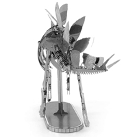 metal earth dinosaur - stegosaurus skeleton 1