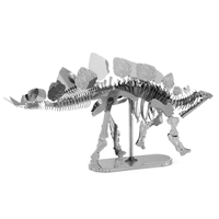 metal earth dinosaur - stegosaurus skeleton 2