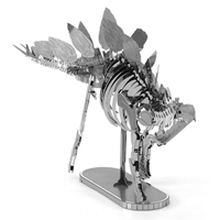 metal earth dinosaur - stegosaurus skeleton 3