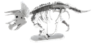 metal earth dinosaur - triceatops skeleton