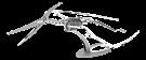 Metal Earth Dinosaurs - Pteranodon Skeleton