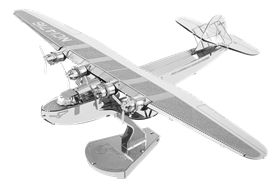 metal earth aviation - pan am china clipper