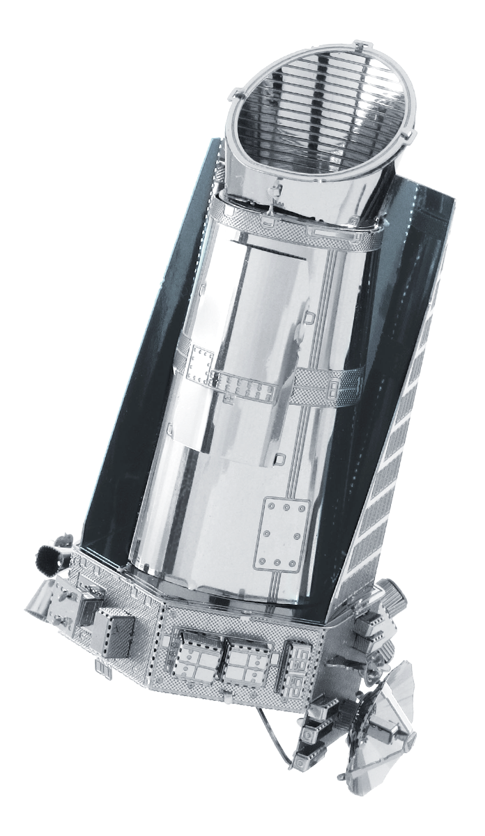 metal earth aviation - kepler spacecraft