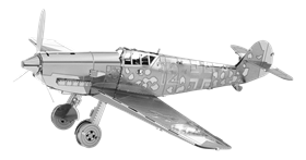 metal earthe  aviation - messershmitt bf- 109