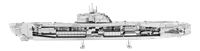 metal earth vehicle - German U-boat type XXI