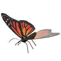 metal earth  Butterflies - monarch 1