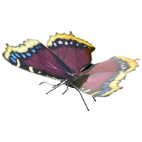 metal earth butterflies - mourning cloak 1