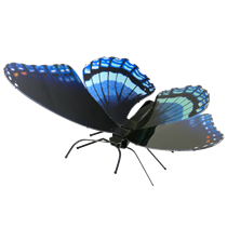 Metal Earth bugs - Red Spotted Purple