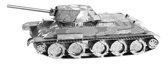metal earth tanks t-34 tank