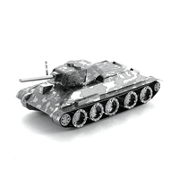 metal earth tanks t-34 tank 3