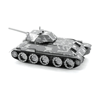 metal earth tanks t-34 tank 4
