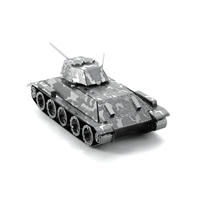 metal earth tanks t-34 tank 5