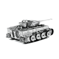 metal earth tanks - tiger i tank 3