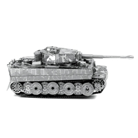 metal earth tanks - tiger i tank 4