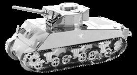 metal earth tanks - sherman tank