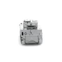 metal earth tanks - sherman tank 1