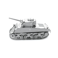metal earth tanks - sherman tank 2